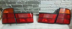 Original  Bmw 5 Series E34 Sedan Rear Back Inner Outer Tail Lights Lamps HELLA