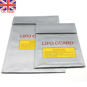 Lipo Charging Safe Bag Battery Guard Charge Sack Fireproof Storage