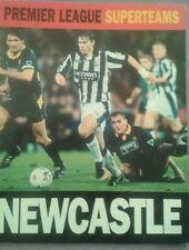 Newcastle United Premier League Superteams - 1995 Carlton book