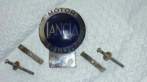 Lancia Motor Club Grill Badge