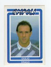 figurina CALCIO FLASH 1988 NUMERO 78 EMPOLI DRAGO