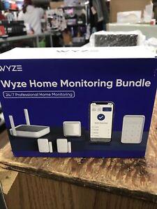 Wyze Home Security Monitoring Bundle - Model # WSHMS Brand New Sealed!