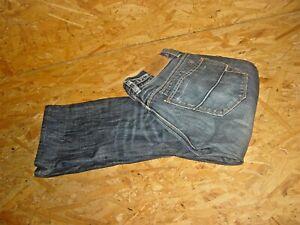Herren Jeans v.HERRLICHER Gr.W32/L30 dunkelblau used knopfleiste IVO