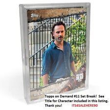 2017 Topps On Demand #11 The Walking Dead Season 8 CARL GRIMES (CHANDLER RIGGS)