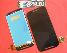 P1 DISPLAY LCD+TOUCH SCREEN PER MOTOROLA MOTO E XT1021 XT1022 VETRO XT1025 NERO