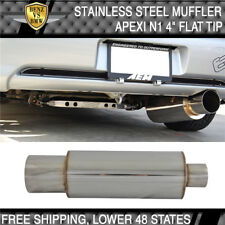 Fit For 89-98 Nissan 240SX Stainless Steel Muffler Apexi N1 Type 4 Inch Flat Tip
