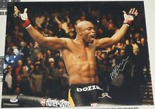 Anderson Silva Signed UFC 16x20 Photo PSA/DNA COA Picture Autograph 64 77 82 126