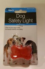Pet Safety Light Dog Tag Dog or Cat Attach to collar for increased visibilty