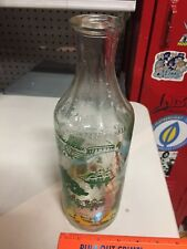 Vintage Pirate Captain Morgain Glass Rum Liqour Bottle