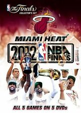 NBA - Miami Heat 2012 Champions (DVD, 2012, 5-Disc Set)