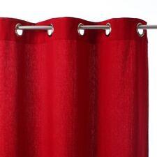 Paire de rideaux 140 x 260 Rouge