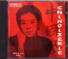 Jenny LIN: CHINOISERIE Rossini Tcherepnin John Adams Grainger Arensky Busoni CD