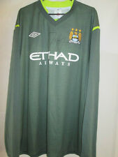 Joe Hart Firmado Manchester City Portero De Fútbol Camisa Coa 20649