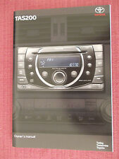 TOYOTA TAS 200 RADIO / CD / AUDIO  GUIDE - MANUAL - HANDBOOK (ACQ 2862+)