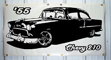 1955 Chevy 210 emblem custom banner sign 2'X4' NEW COLORS AVAILABLE