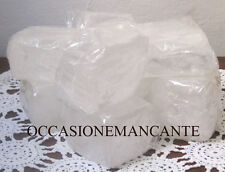 3 Cristalli di Potassio Pietra 180-200 g Allume di Rocca alta qualità