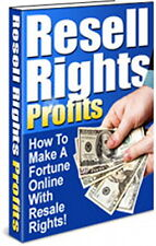 How To Make Your Fortune Online With RESELL RIGHTS - Instant Business (CD-ROM)