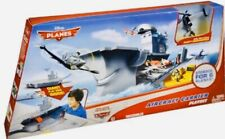 Disney Planes Aircraft Carrier Playset includes Dusty Crophopper Hard to Find