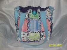 Moda Sunday Afternoon Unique Rag Quilt DiaperBag  BagTote Purse SMALL