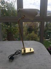 LAMPADA TAVOLO 50s STILNOVO ARTELUCE ARREDOLUCE BRASS TABLE LAMP