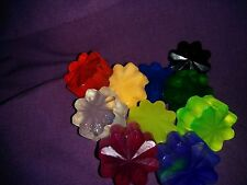 50 Flower Soap Wedding Party/Bridal Shower Favors--Many colors available