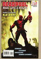 Deadpool Merc with a Mouth #1-2009 nm 9.4 1st STANDARD cover Arthur Suydam Giant