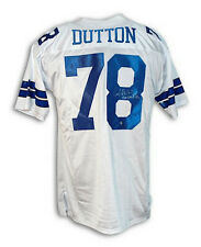 "Autographed John Dutton Jersey Throwback Inscribed ""Americas Team"