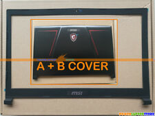 New LCD Cover Back Case + Front Bezel Cover F MSI GE73 GE73VR 7RF-006CN MS-17C1