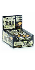 Warrior Crunch High Protein Bars Low Carb Low Sugar x 12 Per Box Choco Peanut