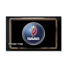 SAAB Logo Metal Business Card Case Holder Gift Box
