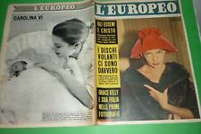 L'Européen 1957 Abbe Lane + Grace KELLY Caroline De Monaco + Gignese + Elsa