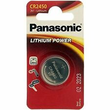 Panasonic Button Cell Lithium 1 Pcs. Blistercard CR 2450 1-bl Panasonic