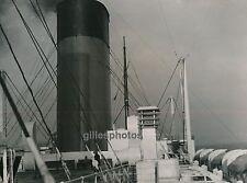 PAQUEBOT c. 1950 - Cheminées d'Ile de France - DIV300