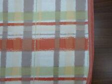 Tischdecke abwaschbar Acrylbeschichtete Baumwolltiscdecke 120/160 terra kariert
