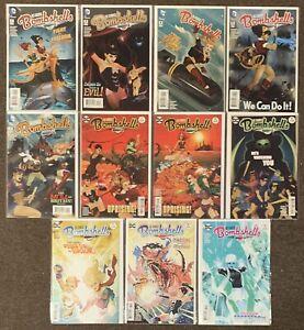 DC Comics Bombshells #2,3,4,5,11,17,18,19,29,30,31 2015 Lot Harley Quinn Nm