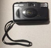 Kodak KB 10 Point & Shoot 35mm Film Camera Strap in Black Eastman Aspheric Lens