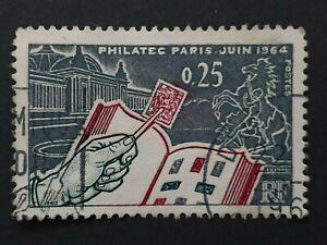 philatec paris juin 1964 stamp, (the stamp collectors stamp) nice stamp