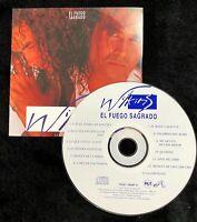 Audio CD - WILKINS - El Fuego Sagrado - USED Excellent (EX) WORLDWIDE