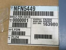 "Lyon NFN5449 Safety Storage Cabinet Shelf 43""X18"" - New"