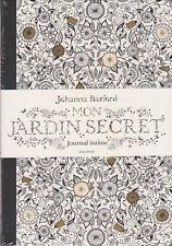 ART THERAPIE MON JARDIN SECRET JOURNAL INTIME Johanna BASFORD anti-stress