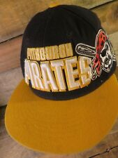 Pittsburgh PIRATES Raiser Letters Embroidered Snapback Adjustable Adult Hat Cap
