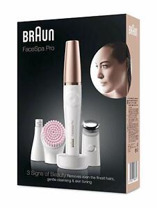BRAUN FaceSpa Pro 912 3-in-1 Gesichtsepilierer und Reinigungsbürste B-WARE