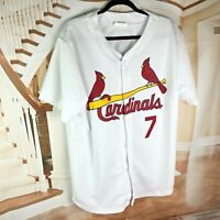 St. Louis Cardinals SGA Stadium Giveaway men's Size XL 100 poly  Matt Holliday