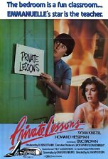 PRIVATE LESSONS Movie POSTER 11x17 Eric Brown Sylvia Kristel Howard Hesseman