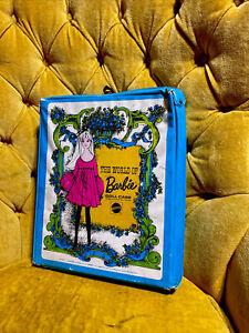 No1002Vintage 1968 The World of Barbie Doll Case Mattel For Barbie & Her Friends