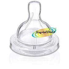 PHILIPS Avent SCF635/27 Classic 2pk Variabile Flusso Tettarelle 3m+ Airflex BPA libero
