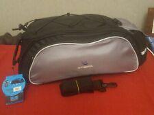 ROSWHEEL13L Bicycle Seat Rear Bag Bike Pannier Rack Pack Shoulder Bag Cycling (J