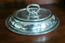 More details for very good antique silver plated  entree vegetable serving  dish