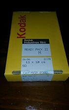 Kodak industrex. Film ready pack m 50-13x18 new sealed cat 507 2392