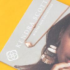 Kendra Scott Rose Gold Geometric Laureen Pendant Necklace Jewelry New